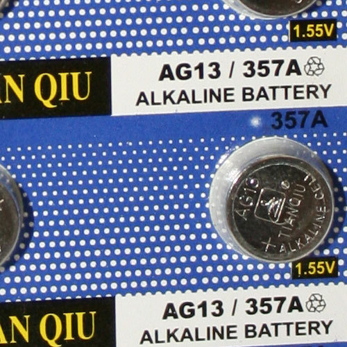 Ag13 Alkaline Button Cell Battery For Camera Watch And