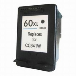 HP 60XL (CC641WN) Remanufactured High Yield Black Inkjet Cartridge