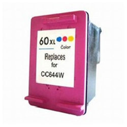 HP 60XL (CC644WN) Remanufactured High Yield Color Inkjet Cartridge