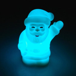 Multi-Colored Changing LED Santa Claus Light for Christmas