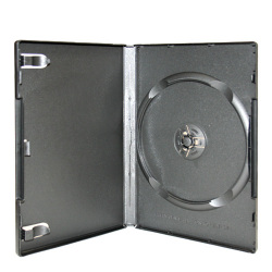 Professional Grade 14mm Single Black DVD Cases
