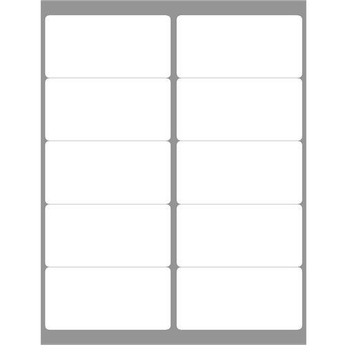 Avery Labels 5163 Template Blank