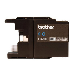 Brother LC79C Compatible Extra High Yield Cyan Ink Cartridge