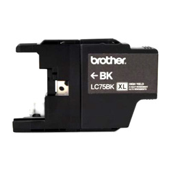 Brother Compatible LC75BK High Yield Black Ink Cartridge