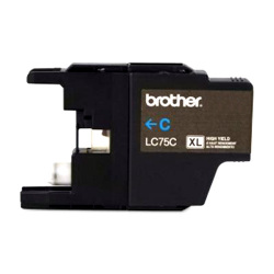 Brother Compatible LC75C High Yield Cyan Ink Cartridge