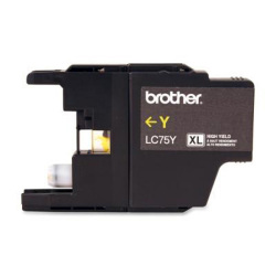 Brother Compatible LC75Y High Yield Yellow Ink Cartridge
